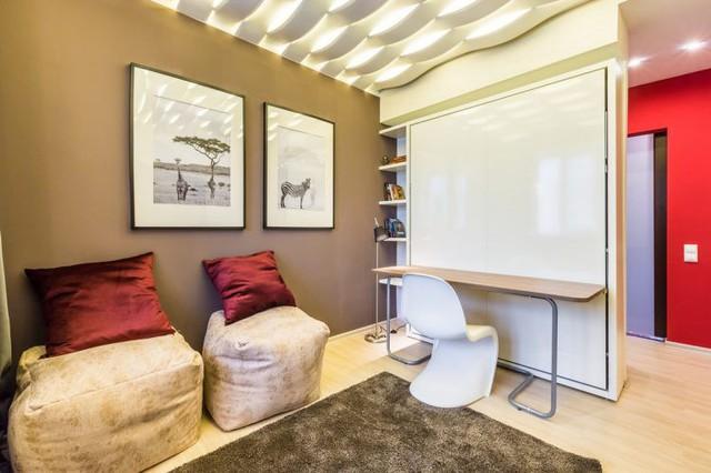 Căn phòng13m2 biến hóa thoải mái, tiện nghi cho cuộc sống của một gia đình trẻ - Ảnh 3.