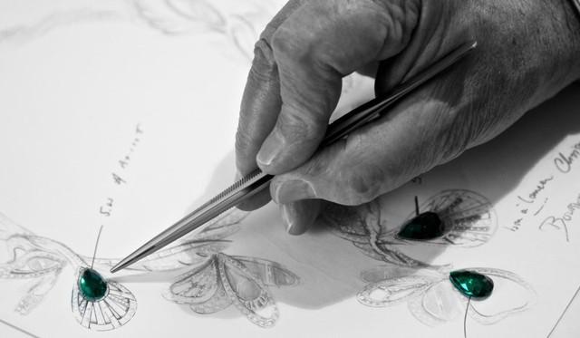 Đằng sau tuyệt tác Boucheron's Bouquet d'Ailes: 9 tháng miệt mài và 2300 viên đá quý làm nên những chiếc vòng cổ với những rung động thiên nhiên tuyệt vời - Ảnh 3.