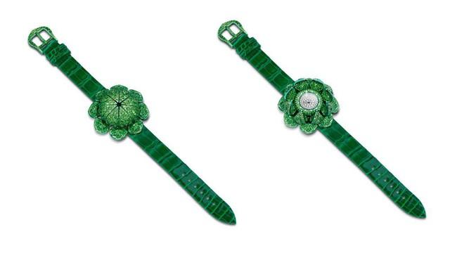 Không phụ sự mong đợi, chiếc đồng hồ đầu tiên của bậc thầy kim hoàn Glenn Spiro lung linh như một món trang sức xa xỉ - Ảnh 3.