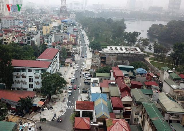 Ảnh: Toàn cảnh con đường 600m hoàn thành trong 17 năm tại Hà Nội - Ảnh 3.