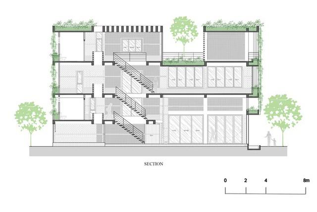 Hàng vạn dân văn phòng sẽ mơ ước được làm việc trong resort ngập cây xanh này - Ảnh 21.