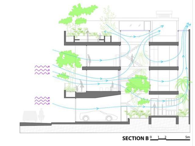 Nhà phố ở Nha Trang gây sốt với thiết kế xanh mướt nhờ những miệt vườn nhỏ - Ảnh 22.