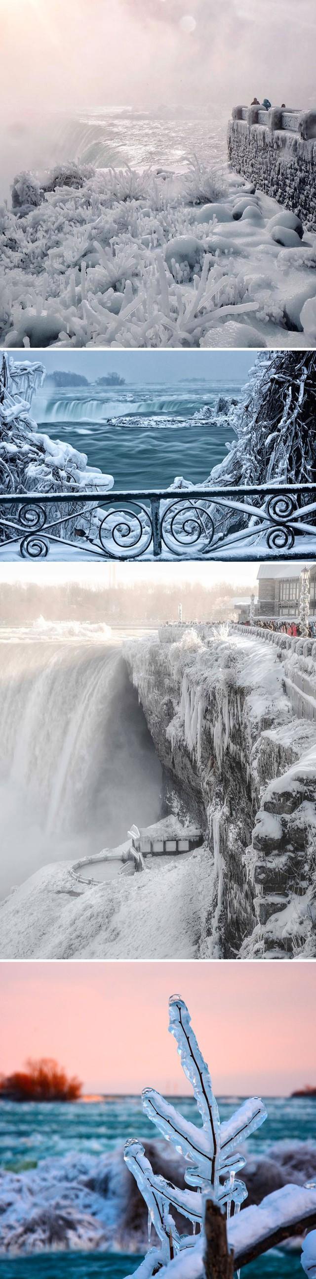 Thác Niagara đã trở thành một dòng sông băng thượng cổ.
