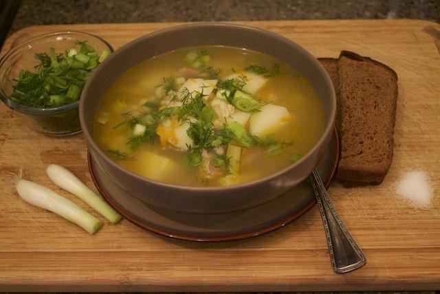 Món súp Rassolnik truyền thống thơm ngon và nhiều năng lượng của người Nga. (Ảnh: Internet)