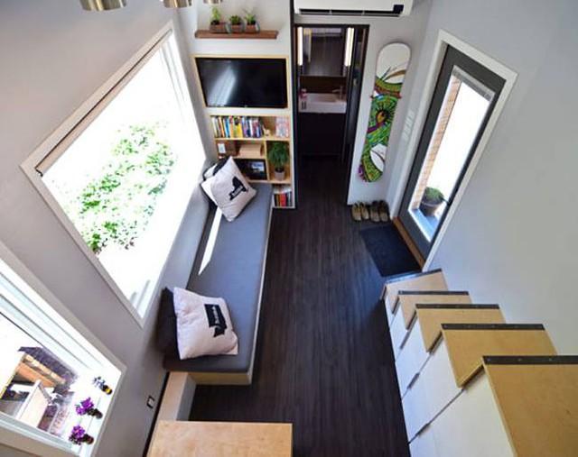 Cặp vợ chồng trẻ sống thoải mái và tiện nghi trong ngôi nhà 18m2 - Ảnh 4.