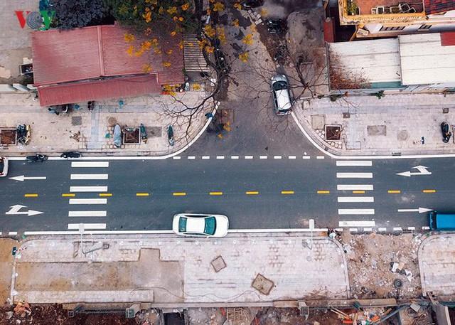 Ảnh: Toàn cảnh con đường 600m hoàn thành trong 17 năm tại Hà Nội - Ảnh 4.