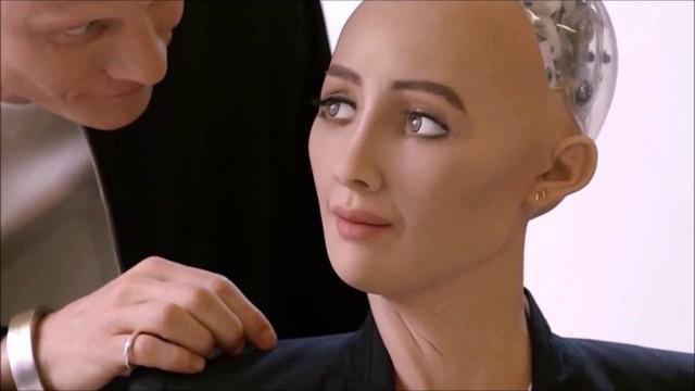 Sophia, cô nàng robot có nhiều phát ngôn gây chấn động dư luận thế giới. Ảnh minh họa