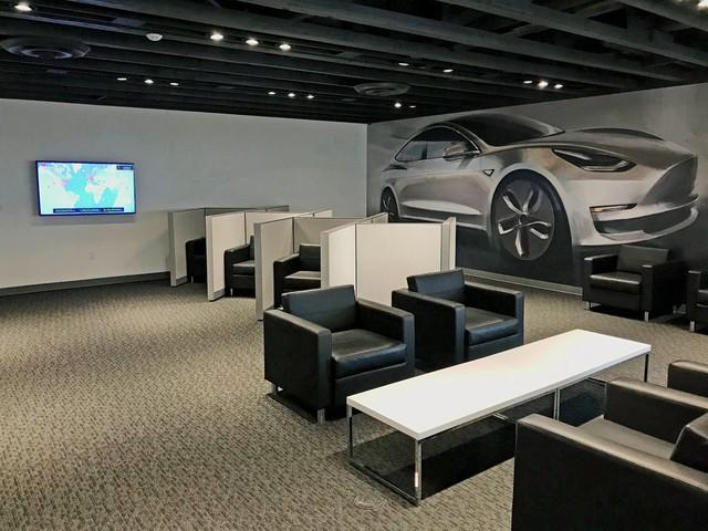 Trạm sạc xe điện sang chảnh của Tesla - Ảnh 7.
