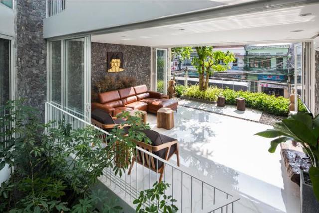 Nhà phố ở Nha Trang gây sốt với thiết kế xanh mướt nhờ những miệt vườn nhỏ - Ảnh 7.