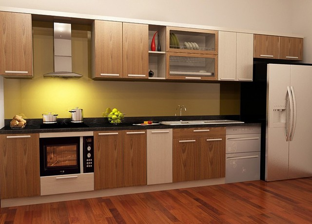 Sử dụng tủ bếp nhựa laminate sẽ giúp bạn có được một chiếc tủ bếp bền đẹp và sang trọng cho không gian bếp nhà mình.