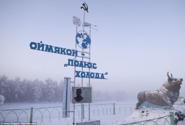 Ngôi làng Oymyakon - nơi có thâm niên chống lạnh dày dặn nhất thế giới.