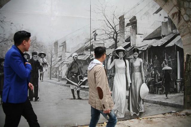 Hà Nội: Phố bích họa Phùng Hưng tái khởi động, hoàn thành trước Tết cổ truyền - Ảnh 10.