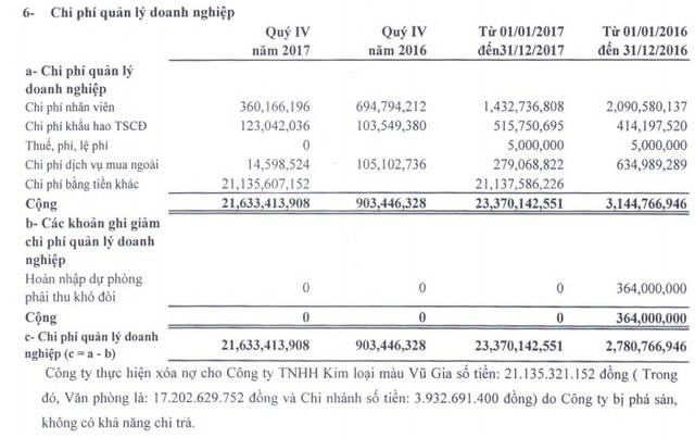 Khoáng sản Á Cường: Quý 4 lỗ lớn hơn 23 tỷ đồng - Ảnh 1.