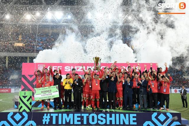Hành trình kỳ diệu của bóng đá Việt Nam trong năm 2018 qua ảnh - Ảnh 30.