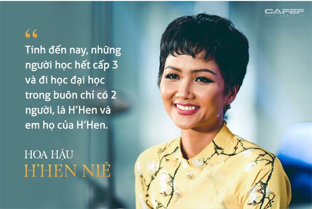 Ước mơ thời thơ bé ít ai ngờ của Hoa hậu H'Hen Niê - Ảnh 2.