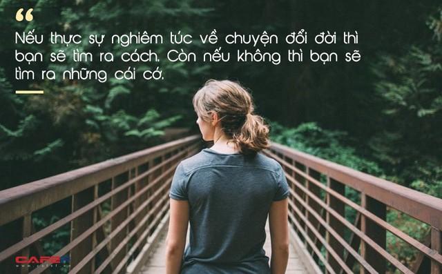 Nếu thực sự muốn đổi đời, bạn sẽ tìm ra cách, còn không bạn sẽ tìm ra lý do: Tiếp tục trì hoãn là phá hoại tương lai của chính bản thân mình - Ảnh 2.