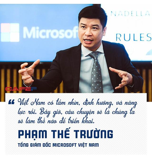 Tổng giám đốc Microsoft Việt Nam: Người Việt có khả năng nắm bắt công nghệ ở nhóm tốt nhất thế giới! - Ảnh 2.