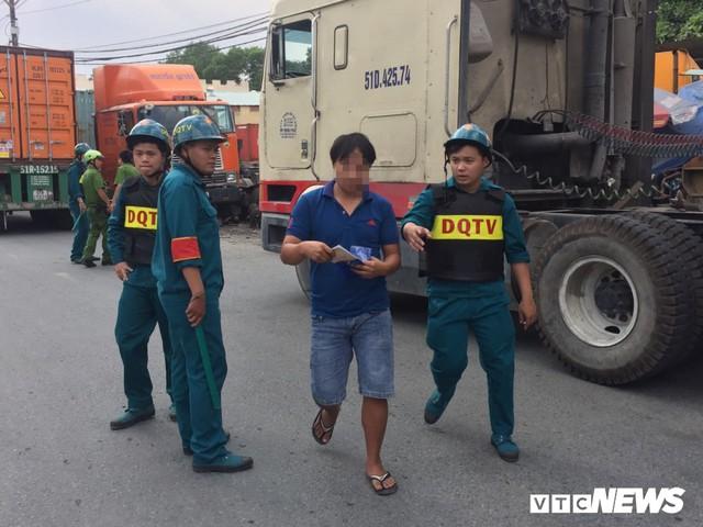 Ảnh: Theo chân công an chốt chặn, xử lý tài xế container sử dụng ma túy - Ảnh 7.