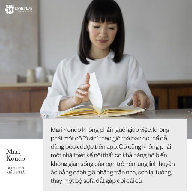 Thánh nữ dọn nhà Mari Kondo: Ngôi sao kiếm triệu đô chỉ nhờ đem đồ đi vứt - Ảnh 1.