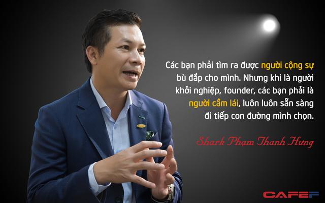 Shark Phạm Thanh Hưng: Các bạn trẻ mới ra trường hãy mưu sinh, lập nghiệp trước rồi hãy nghĩ đến chuyện khởi nghiệp - Ảnh 2.