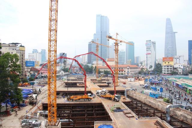 Tiếp tục xin tạm ứng 2.245 tỷ đồng cho tuyến metro số 1 TP.HCM - Ảnh 1.