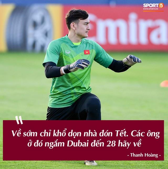 Trước vòng đấu loại trực tiếp Asian Cup 2019, Đặng Văn Lâm tuyên bố: Anh sẽ về nước, nhưng không phải hôm nay - Ảnh 6.