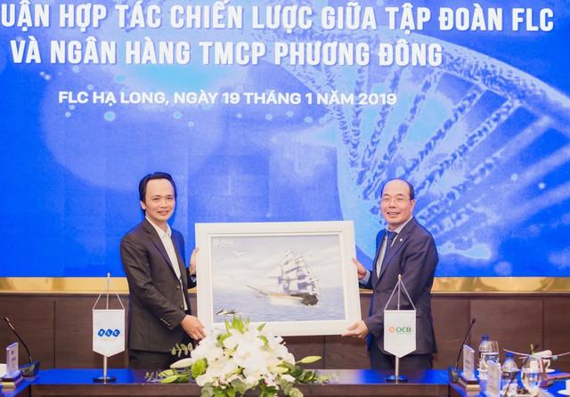 FLC bắt tay cùng ngân hàng OCB, hợp tác toàn diện - Ảnh 1.