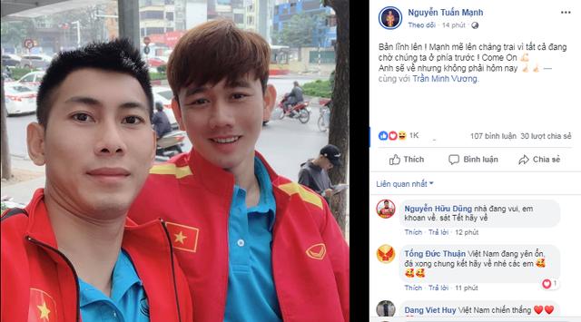 Cầu thủ Việt Nam tự hào: Kỳ tích sẽ xảy ra khi chúng ta đủ niềm tin - Ảnh 2.