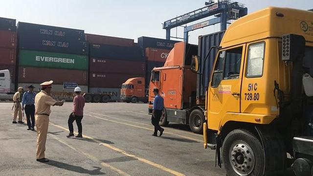 Phát hiện nhiều tài xế container ở cảng Cát Lái dương tính ma tuý - Ảnh 1.