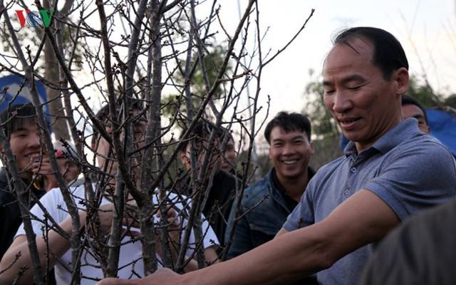 Ảnh: Đào rừng Tây Bắc ngập tràn trên phố núi Lai Châu - Ảnh 17.