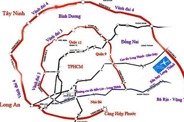 Đề xuất xây đường 20.000 tỷ đồng đoạn đi qua TP.HCM - Ảnh 1.