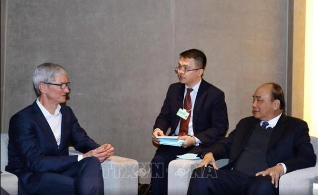 Thủ tướng ủng hộ xây dựng trung tâm dữ liệu Apple tại Việt Nam - Ảnh 1.