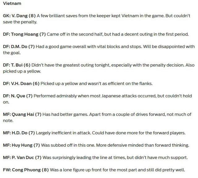 Báo châu Á chấm điểm Việt Nam: Văn Lâm chơi cực hay nhưng không thể không nhắc đến ngôi sao này - Ảnh 1.