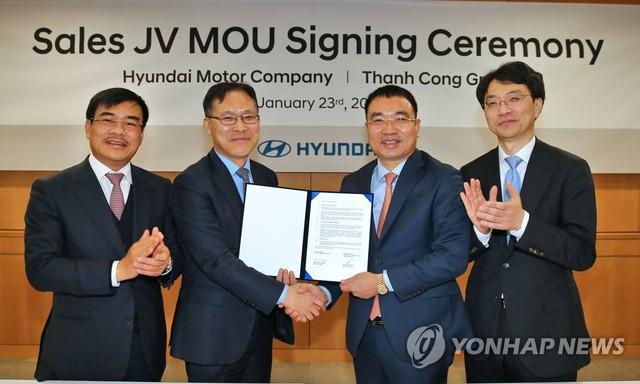 Hyundai thành lập liên doanh với một công ty Việt Nam - Ảnh 1.