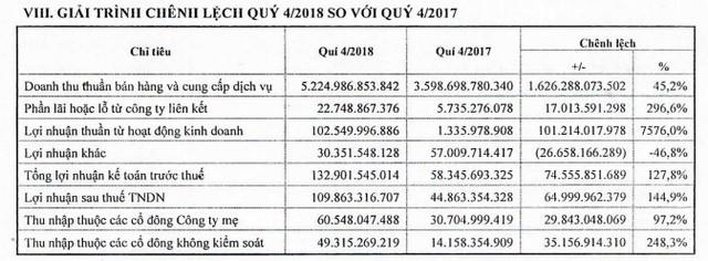 Lượng xe bán ra tăng vọt, Savico báo lãi năm 2018 đạt 300 tỷ đồng, tăng 116% so với cùng kỳ - Ảnh 1.