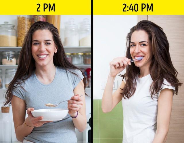 Nha sĩ khuyên bạn nên duy trì 4 thói quen này thường xuyên để giúp bảo vệ hàm răng luôn khỏe đẹp - Ảnh 2.