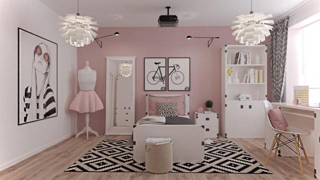Tham khảo cách thiết kế căn phòng mang phong cách trẻ trung - Ảnh 3.