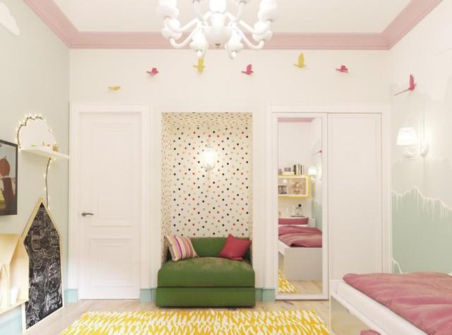 Tham khảo cách thiết kế căn phòng mang phong cách trẻ trung - Ảnh 9.