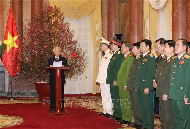 Tổng Bí thư, Chủ tịch nước Nguyễn Phú Trọng trao quyết định phong hàm 2 Đại tướng - Ảnh 2.