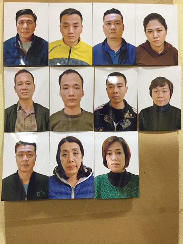 Cảnh sát hình sự Hà Nội đánh sập ổ nhóm tội phạm tín dụng đen cực lớn - Ảnh 1.
