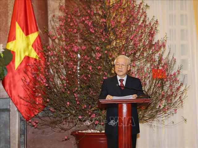 Tổng Bí thư, Chủ tịch nước Nguyễn Phú Trọng trao quyết định phong hàm 2 Đại tướng - Ảnh 3.