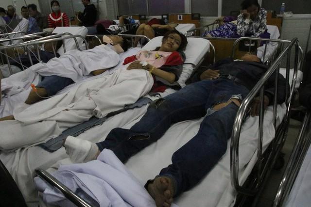 Kỳ nghỉ lễ ác mộng của các nạn nhân bị chiếc xe container tông ở Long An - Ảnh 4.