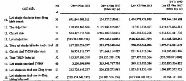 Phát sinh chi phí khác đột biến từ công ty con, PVS vẫn lãi ròng 334 tỷ đồng trong quý 4 - Ảnh 2.