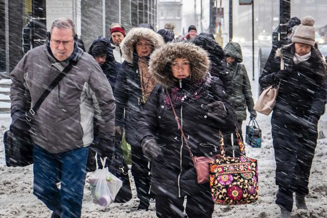 Mỹ: Lạnh kinh hoàng, nhiệt độ xuống âm hàng chục độ C - Ảnh 1.