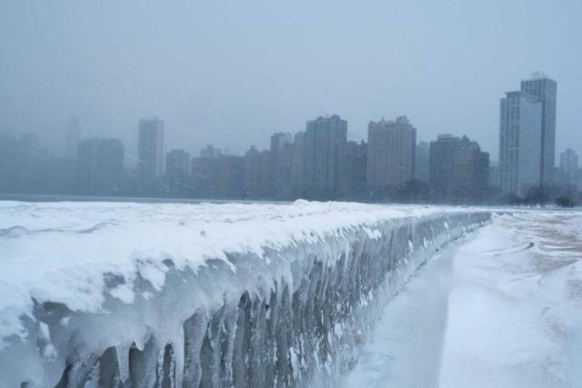 Mỹ: Lạnh kinh hoàng, nhiệt độ xuống âm hàng chục độ C - Ảnh 5.