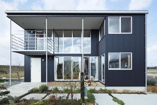 Ngôi nhà gỗ chống gió lạnh vào mùa đông - Ảnh 1.