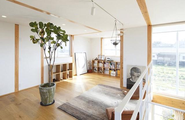 Ngôi nhà gỗ chống gió lạnh vào mùa đông - Ảnh 11.