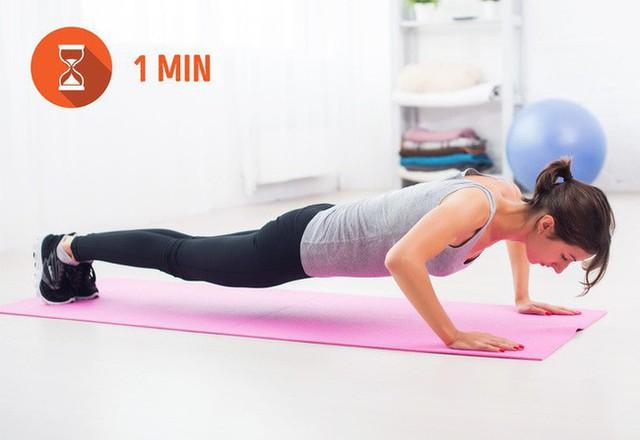 Bài tập đơn giản biến đổi toàn bộ cơ thể bạn trong vòng 1 tháng - tập ngay thôi thì sẽ kịp đón Tết - Ảnh 3.