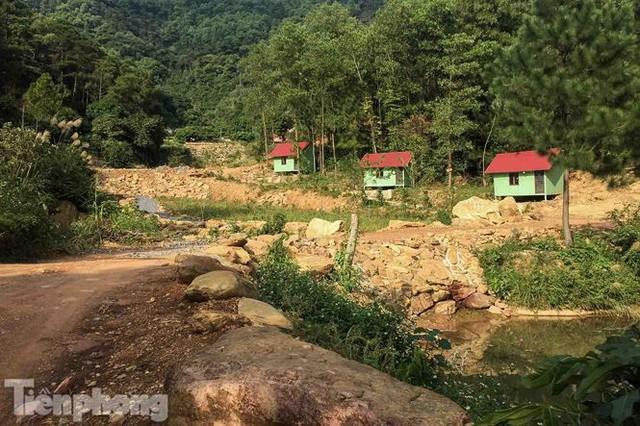 Bên trong khu sinh thái xẻ thịt đất rừng Sóc Sơn sau lệnh cưỡng chế - Ảnh 6.