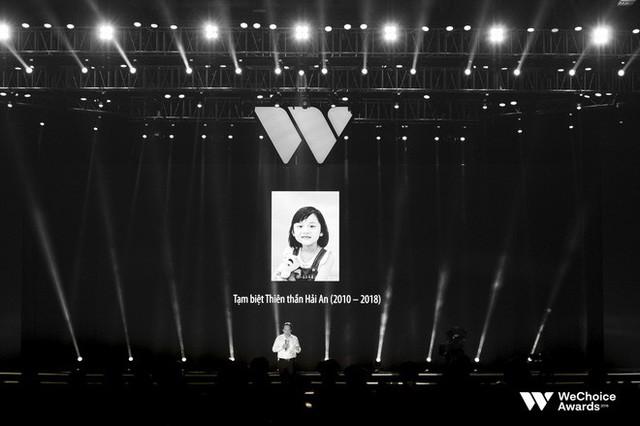 Nghẹn ngào xem tiết mục múa tái hiện câu chuyện về thiên sứ Hải An tại Gala WeChoice Awards 2018 - Ảnh 6.